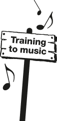 Training to music